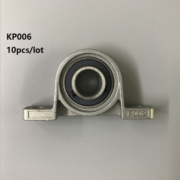 10pcs/lot KP006 30 zinc alloy bearing pillow block Mounted support Spherical Roller pillow block housing