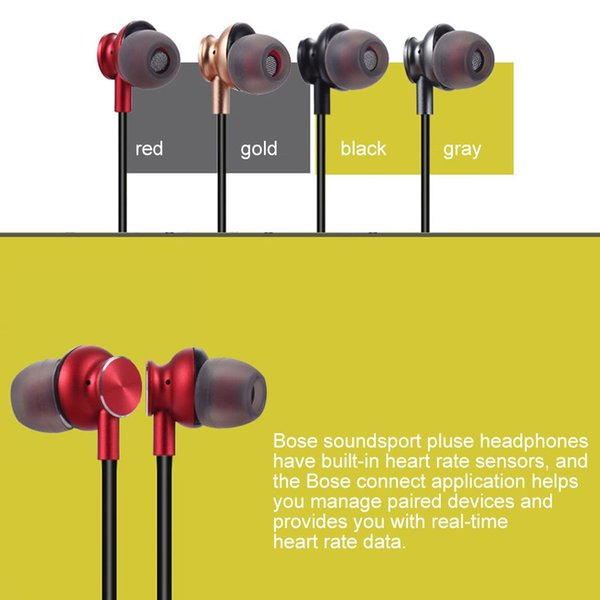 New Arriver M6 Bluetooth Headphone Magnetic Wireless Sport Headset Earphones with Mic Stereo Handfree Earbuds For iPhone Huawei XiaoMi Phone