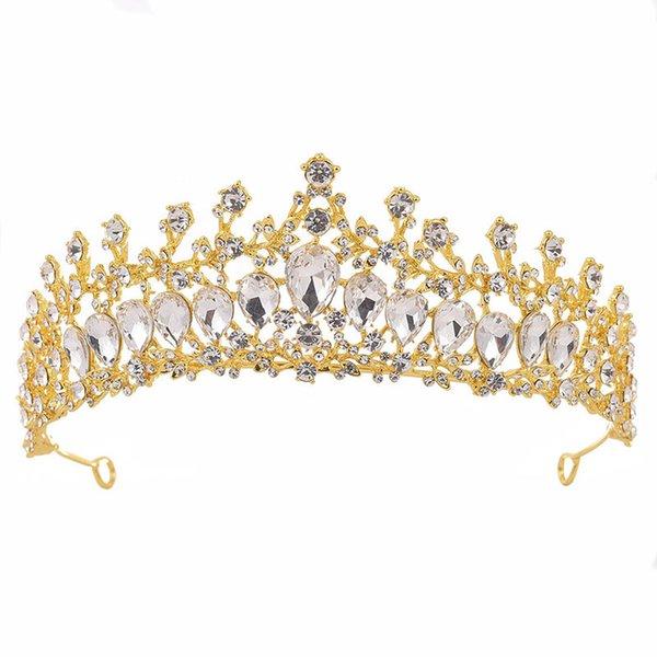 Gold White Crown