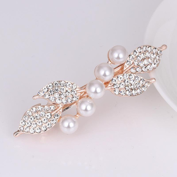 grampo garra do cabelo do metal por atacado diamante garra popular strass cabelo moderno com bom preço e alta qualidade