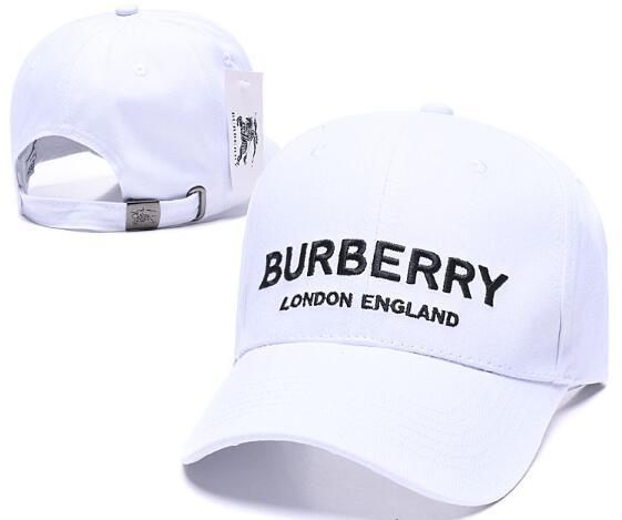 Nuovo marchio di stile Designer Inghilterra Bur cappelli Casquette de Berretto da baseball cappelli a dio per uomo donna osso Snapback Berretti da palla di lusso Alta qualità 07