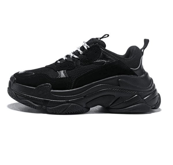 Fashion Paris Tri leFashion Casual Shoe Designer Brand Paris Triple S Casual Sports Shoes Best quality Chaussures Fashion Dad Sneakers 36-45