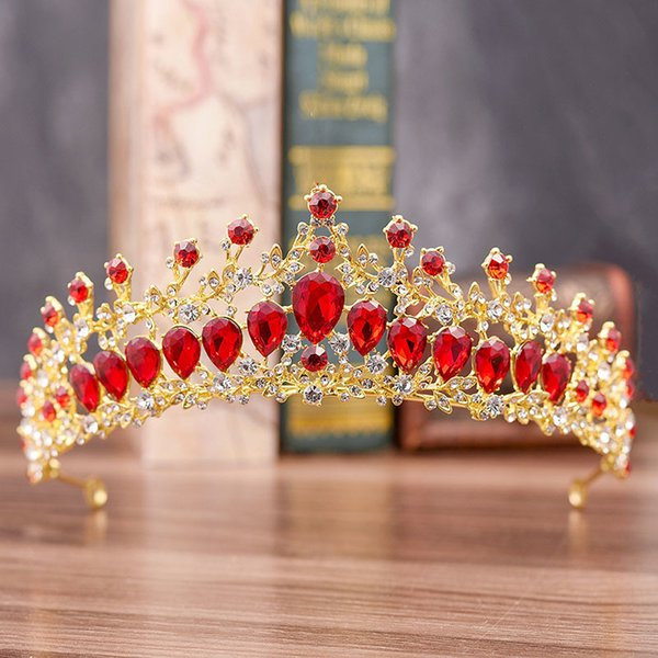 Gold Red Crown