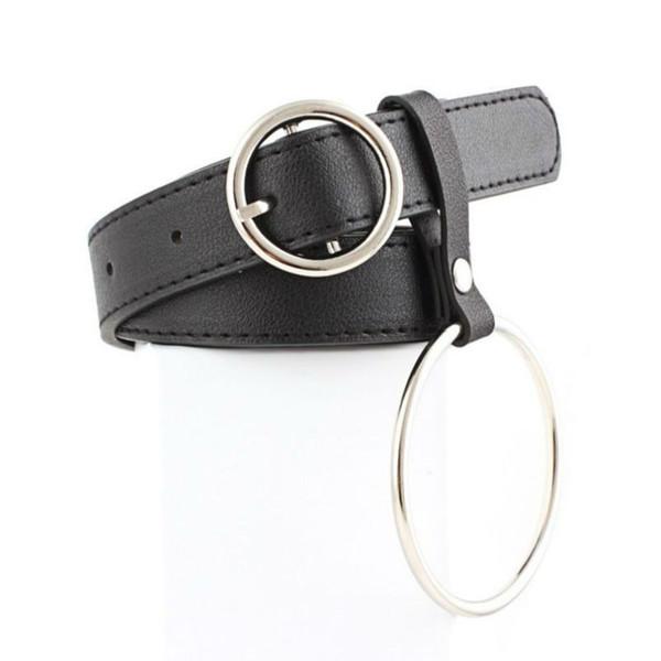clearance womens ring belt leather geometric heart pin buckle belts ladies fringe tassel wide waist belts for women retro jeans waistband