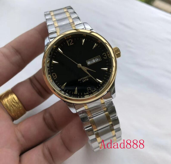 Hot selling Men's Mechanical Automatic Watches Classic Business Day-Date Fine steel watch 40mm top-level quality Wrist Watch 5 style