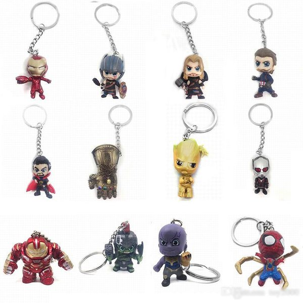 2019 new Funko POP Marvel Super The Avengers Hero Harley Quinn Thanos Spiderman Joker Game of Thrones action figures Toy Keychain kids toys