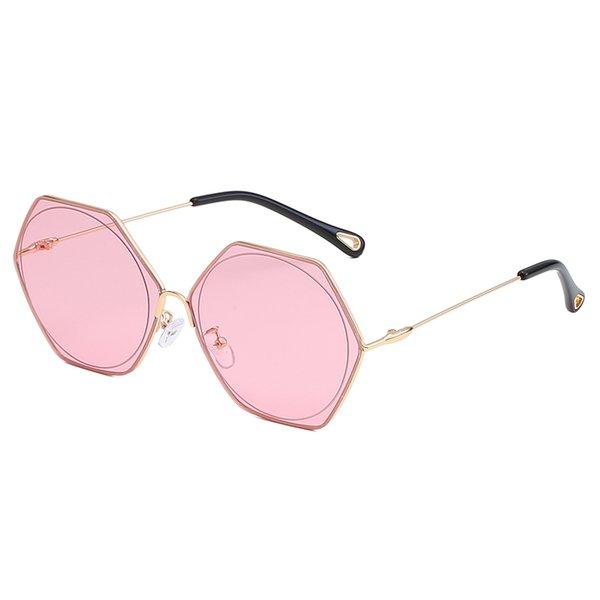 Gold frame Pink