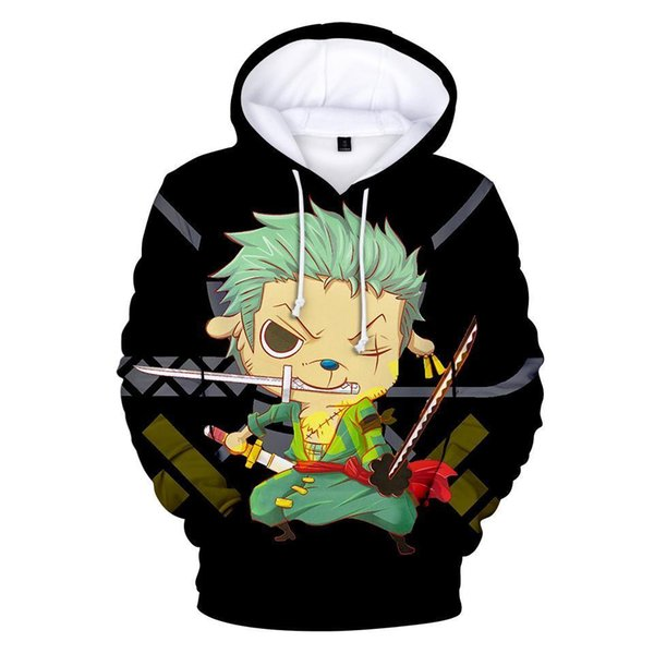 2019 Anime One Piece Hoodie 3d Print Pullover Sweatshirt Monkey D Luffy Ace Sabo Kaido Battle Tracksuit Outfit Hoodies Outerwear 6xl From Brittany79