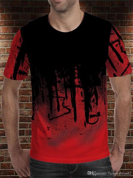 art panit 3d print man tshirt designer summer hemme absorb sweat breathable cloth fashion casual tees