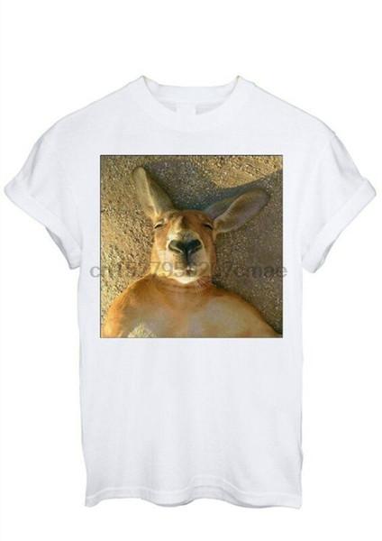 Kanguru Wombat Uyku Instagram Tumblr Moda T Gömlek Erkekler Kadınlar Unisex 1490