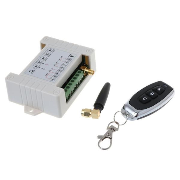 Trasmettitore ricevitore wireless impermeabile DC 12-48V 3CH a canale RF 315/433 MHz Interruttore di controllo remoto Accessori per controller radio