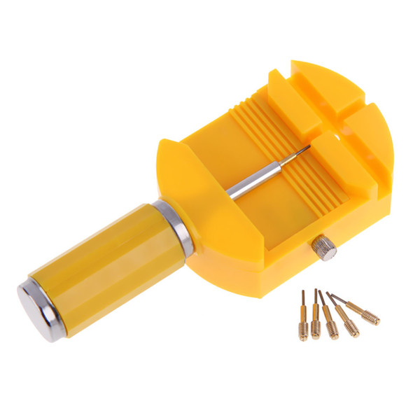 1pcs Watch Band Strap Link Remover Repair Watch Tools Repair Tool Kit with Free 5 Pins horloge gereedschap