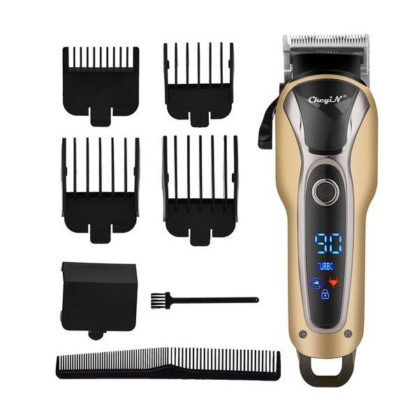 Capelli ricaricabile elettrico tagliatore di capelli professionale trimmer rasatura per gli uomini Barbieri Salon Styling Cutter macchina 4546