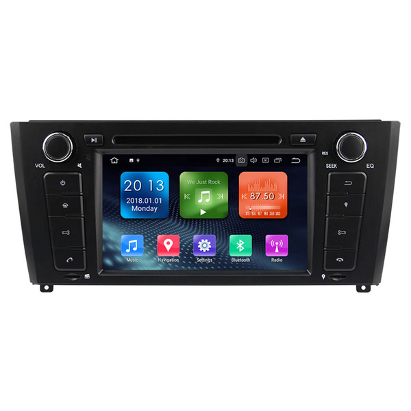 Zhuohan 7 Inch HD Android Car DVD Player for BMW 1 Serie E81 E82 E87 E88 I20 with Bluetooth GPS(AD-L7040)