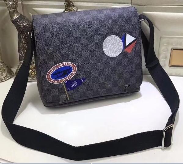 2019 new fashion Men leather messenger bags cross body bag school bookbag shoulder bag briefcase