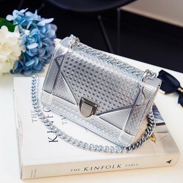 Brand Fashion Luxury Designer Womens Borse Catena Bagaglio Ragazza Nuovo tipo Mini bagaglio Tidal singola spalla Slant Borsa di alta qualità Designer Hot