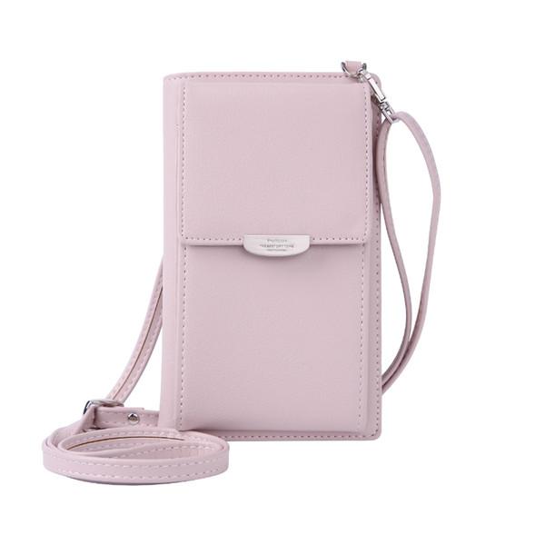2018 Wallet Female Credit Card Holder Coin Zipper Shoulderbag Crossbody Bag For Phone Multifunction Purses Women Long J190628