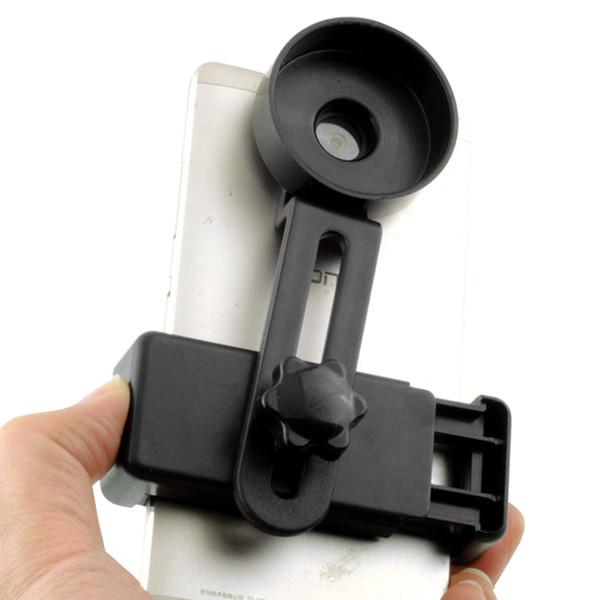 휴대 전화 쌍안경 액세서리 안정적인 어댑터 현미경 조절 크기 스탠드 클립 형 야외 사진 망원경 홀더