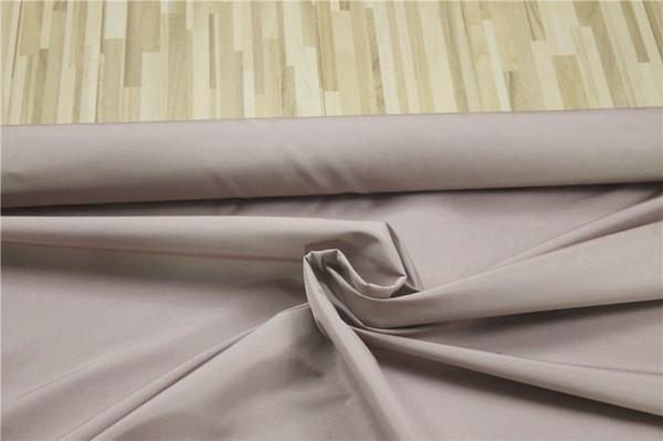 50% ALGODÃO 50% tecido de seda DUPIONI para roupa de cama, cor: cinza-rosa, largura: 115cm, espessura: 30mm, vender por 3m, # 40