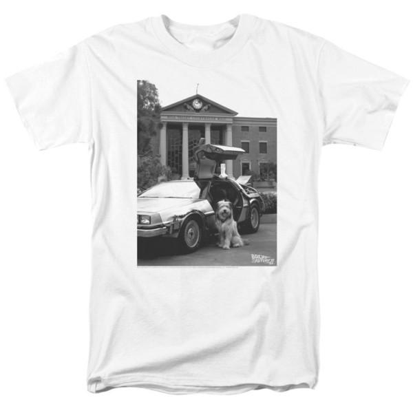 Back to the Future Tallas de Einstein Tallas S-3X NUEVA camiseta de manga corta de verano top de moda caliente envío gratis 2019 camisetas officia