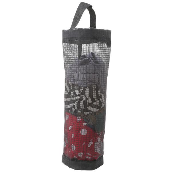 39*17.5cm Mesh Handbag Organizer For Kitchen Storage Bags Black Hanging Bags Kitchen Storage Garbage Rangement Yellow Black