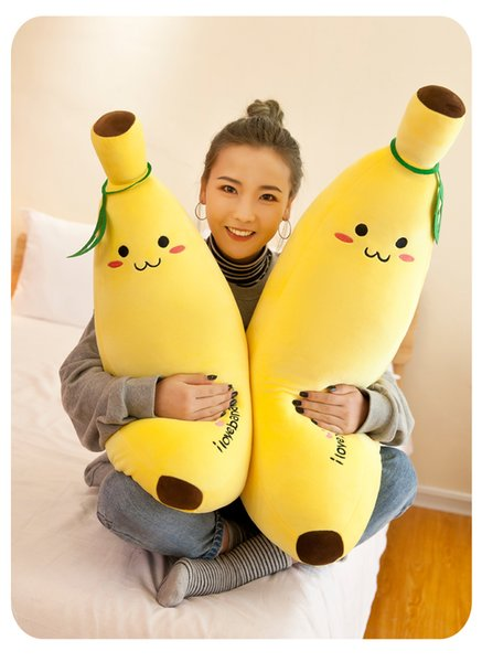 20170605 very hot sales Down cotton banana pillow doll more people feel cute love comfortable hot sales