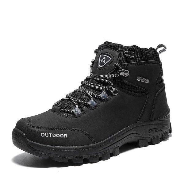 BlackMenHikingShoes