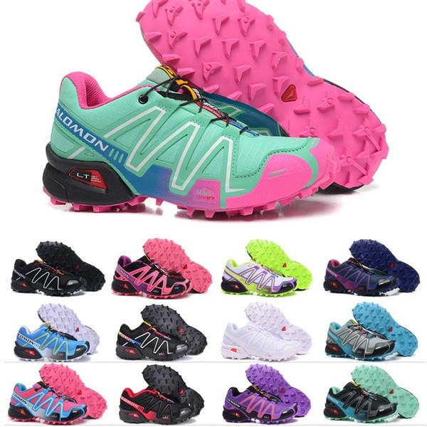 Speedcross 3 IV CS Trail Running Shoes For Mens Women Purple
