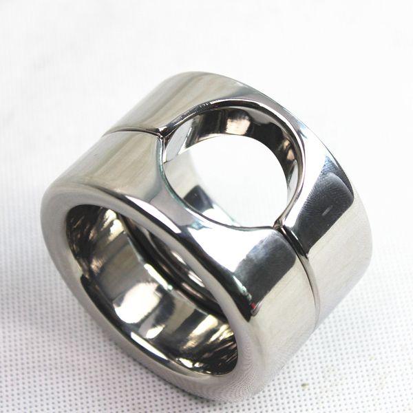 Новый Мошонка Бандаж Подвеска Вес Мужской Пенис Cock кольцо из нержавеющей стали Металлическая Целомудрие Bound Кольца Adultsex игрушки для мужчин B2-2-101