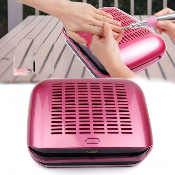 New Arrival 68W Strong Power Nail Suction Dust Collector Nail Dust Collector Vacuum Cleaner Nail Fan Art Salon manicure machine