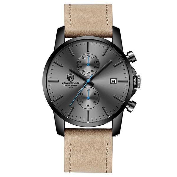 Leather Grey