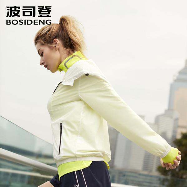 Großhandel Bosideng 2019 Neue Damenmode Casual Sport Outdoor Kurze Jacke Reißverschluss Shirt Sonnencreme UPF 40+ B90522046 Von Crutchline, $55.26 Auf