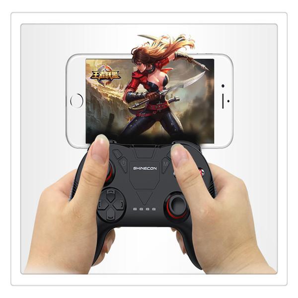 Беспроводной Bluetooth геймпад пульт дистанционного управления игровой контроллер джойстик для PUBG высокое качество SC-B04 Bluetooth Camepad совместим со смартфоном Non-sli