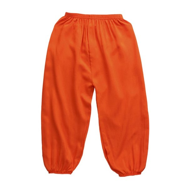 wholesale hot sale summer kids clothing boys girls harem pants cotton solid trousers baby