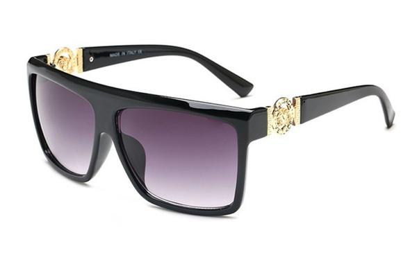 European and American polygonal men sunglasses driving glassesmens womens brand designer sunglass free shipping