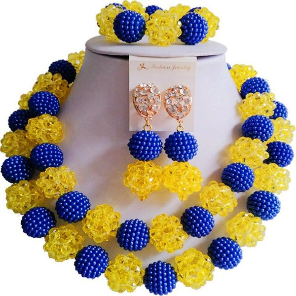 royal blue yellow