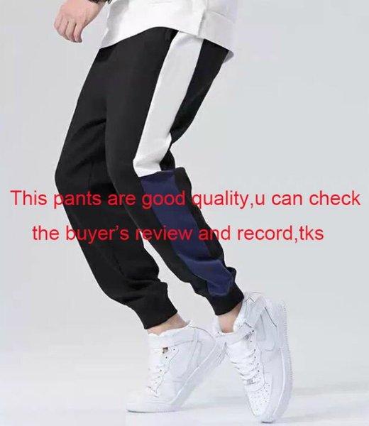 Luxo Calças desenhador da trilha dos homens Man Outono Calças corredores com letras Moda Mens Sweatpants cordão elástico Corredores Clothings L-4XL