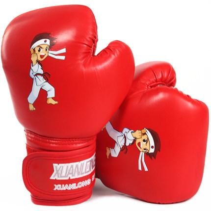 Kids Boxing Gloves 6oz MMA Muay Thai Junior Punching Bag Sparring Kids Training Boxing Gloves Training Fight Age 3-12