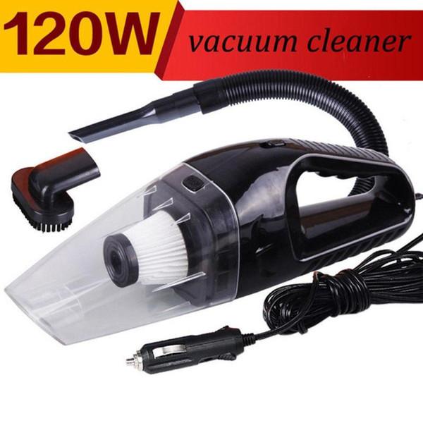 Mini 120W Portable Car Vacuum Cleaner Handheld Super Suction Vaccum Cleaner UK