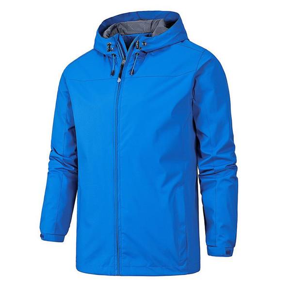 Giacca da uomo Giacca da esterno impermeabile Giacca da trekking da arrampicata Cappotti con cappuccio classico Outwear Quick Dry Clothes Plus Size