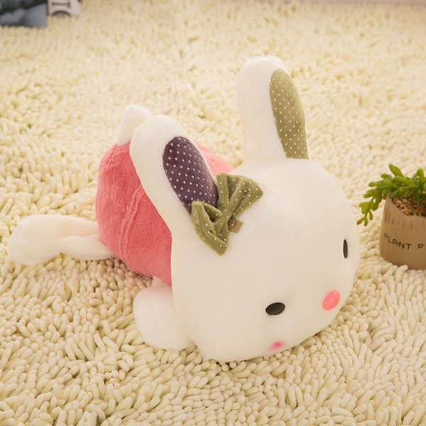 New More Color Rabbit Plush Toy Stuffed For Kids Best Holiday Gifts 20CM 10pcs/Lot -akye
