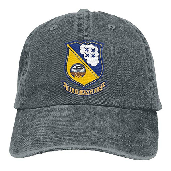 2019 New Cheap Baseball Caps Mens Cotton Washed Twill Baseball Cap US Navy Blue Angels Hat