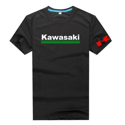 Summer Hot Men's kawasaki Quick DrySportswear Cheap Short sleeve T-shirts Mens Fast Drying Breathable Casual shirts SS-5XL