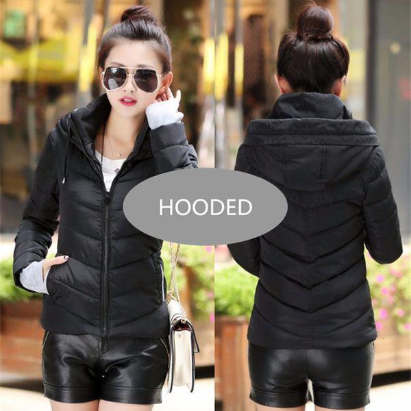Black--hooded