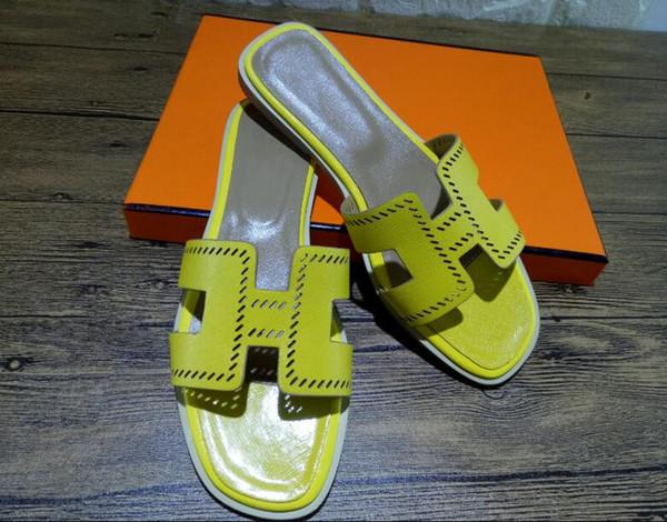 hot Sale brand Men Beach Slide Sandals flip flop Slippers Womens Mens black white red Beach Fashion slip-on designer sandals