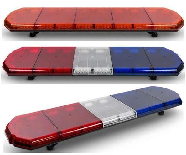 Il trasporto libero 3 watt ha condotto la sbarra luminosa luminosa principale del lampo di emergenza del veicolo di emergenza della barra luminosa della barra luminosa di avvertimento del veicolo dell'automobile di rimorchio