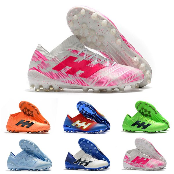 2019 High Quality Soccer Boots Wholesale Nemeziz Messi 18.1 18+ Outdoor 360 Agility Football Shoes Sapatos de futebol Big Order Dropshipping
