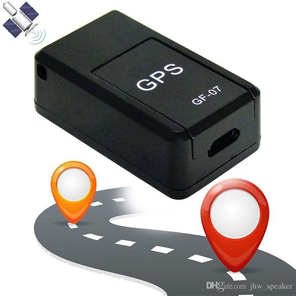 Mini para la ubicación del coche Sistema de localización de rastreadores GF-07 GPS Dispositivo de rastreo SOS magnético de larga espera de seguimiento Objeto de seguimiento personal Anti Lost Tracer