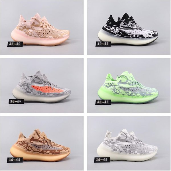 Desinger Kanye West V3 Mens Womens Running Shoes Sports Sneakers Mesh Breathable Athletic Trainers (With Box)Free Shipping