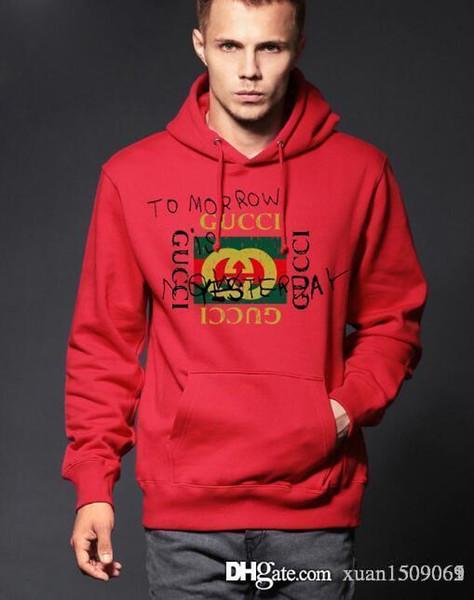Hooded hooded hooded hombres primavera y otoño nueva tendencia deportiva con mangas largas cuello redondo con monogramo jerseys